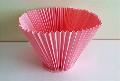 Accordion paper craft diy