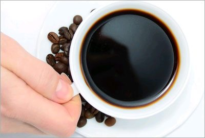 Coffee to reduce hip fat