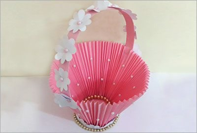 Diy accordion paper craft