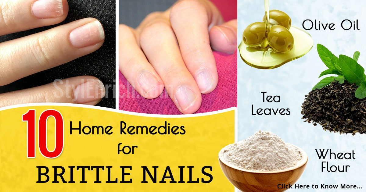 Home-remedies-for-brittle-nails