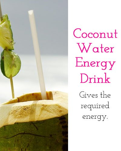 Coconut Water Energy Drink