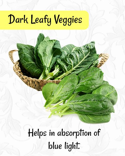 Dark Leafy Veggies for Healthy Eyes
