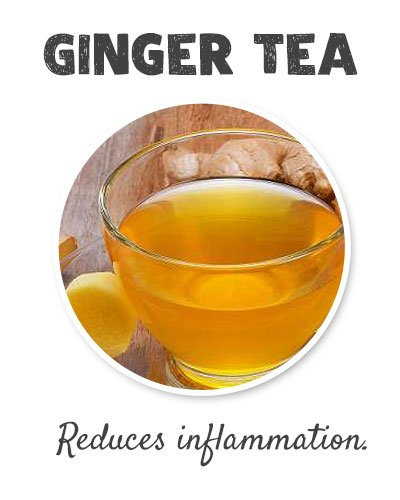 Ginger Tea for Joint Pain