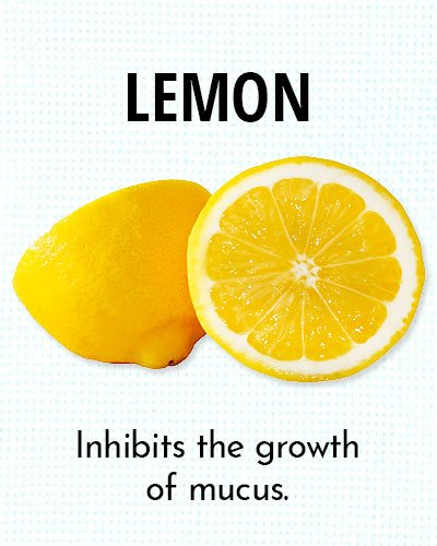 Lemon for Chest Congestion