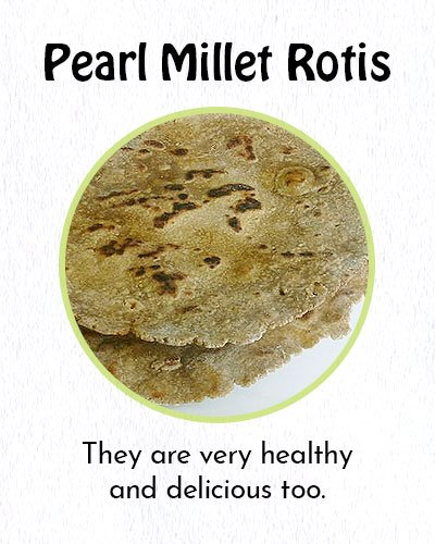 Pearl Millet Rotis