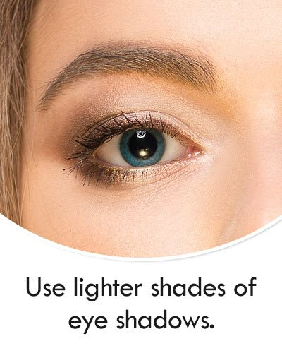 Lighter Shades of Eye Shadows
