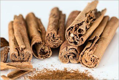 Cinnamon for an effective treatment