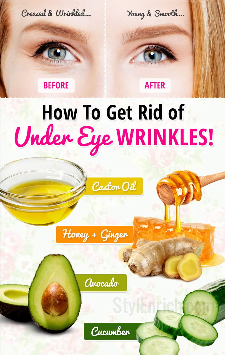 How Can I Get Rid Of Under Eye Wrinkles Naturally