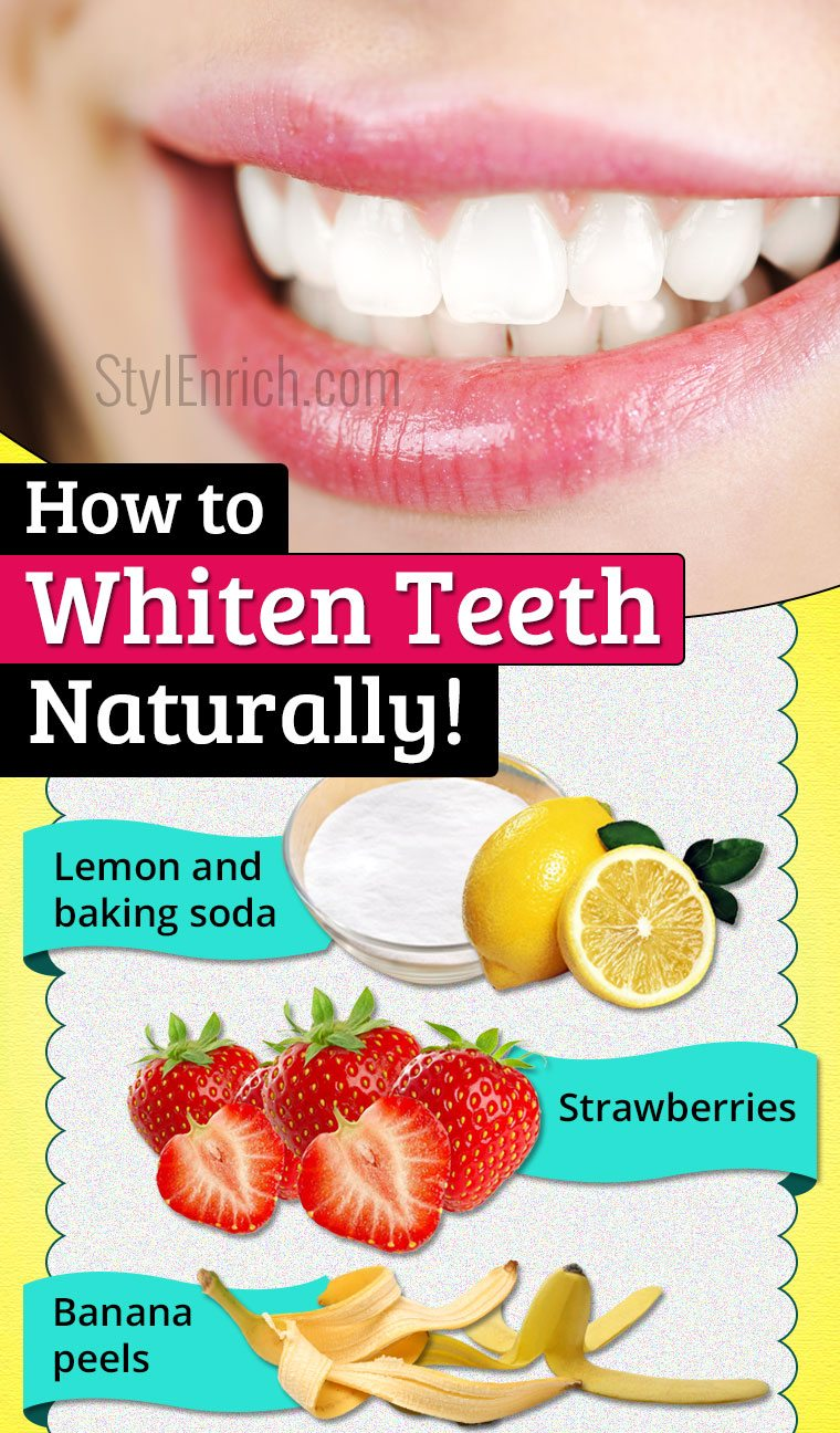Natural Teeth Whitening How To Whiten Teeth With Natural