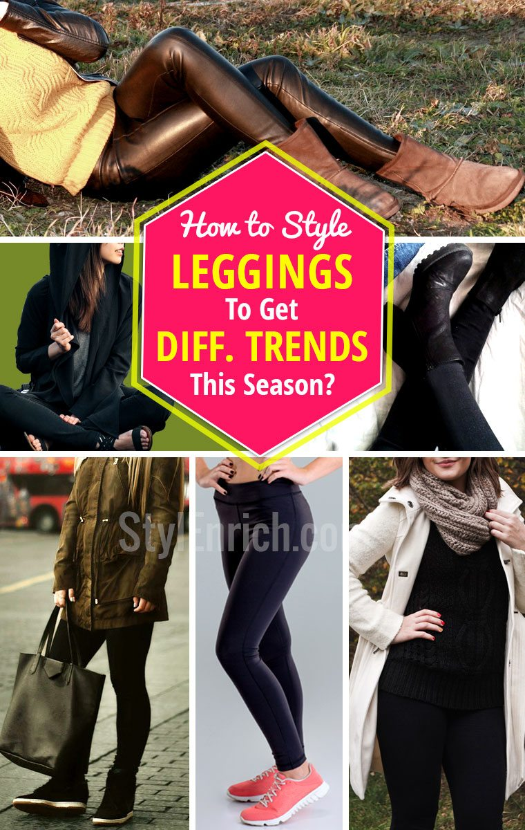 Legging fashion to get different trends