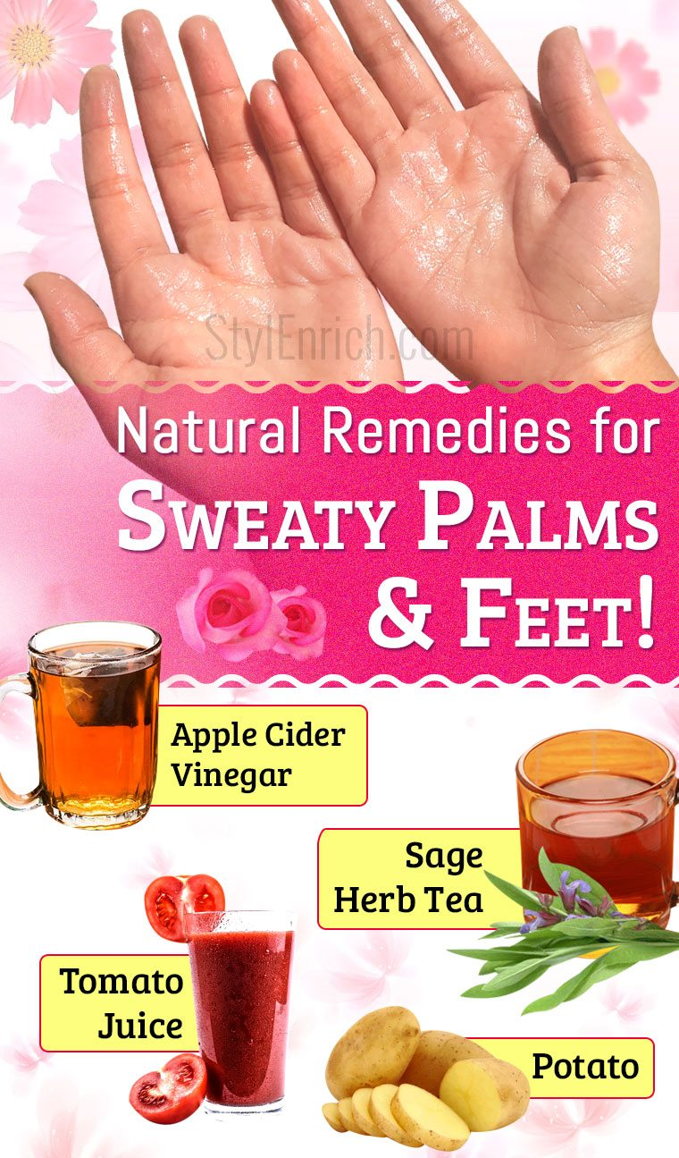 Hyperhidrosis Natural remedies
