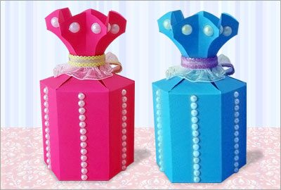 Paper gift box crafts