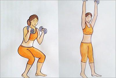 Squats to Press