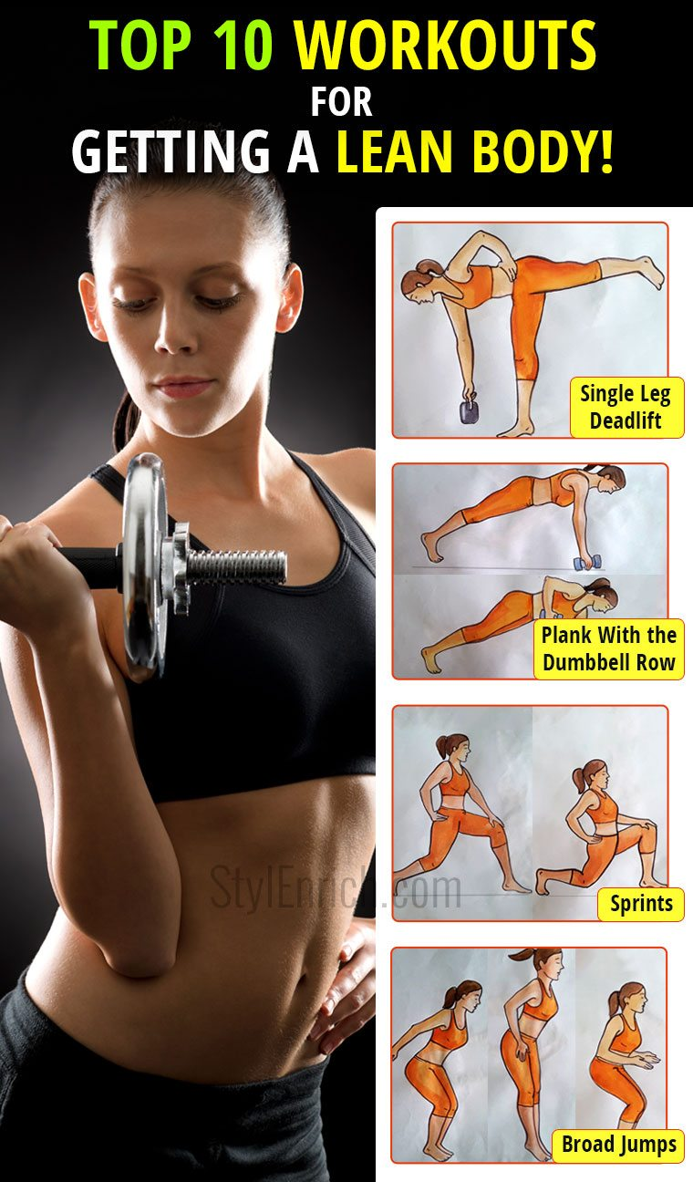 Workouts for lean body