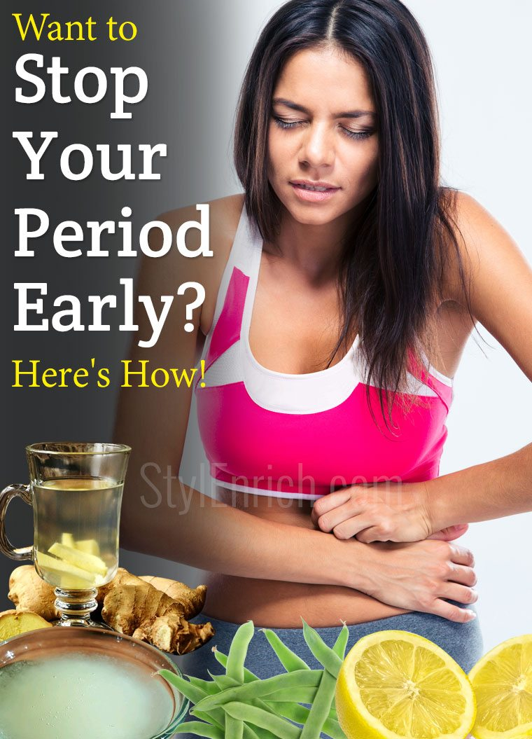 Tablets to stop your period