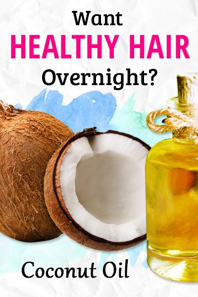 Overnight Coconut Oil Massage