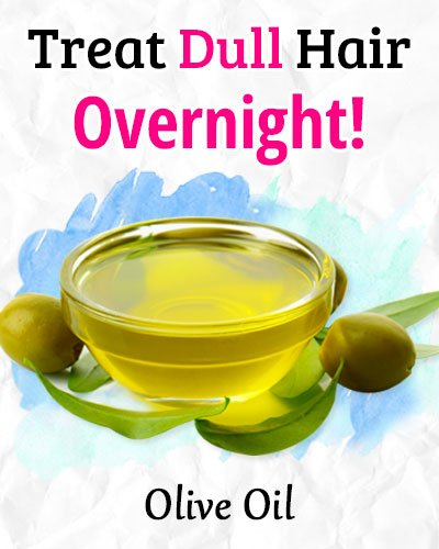 Overnight Olive Oil Mask