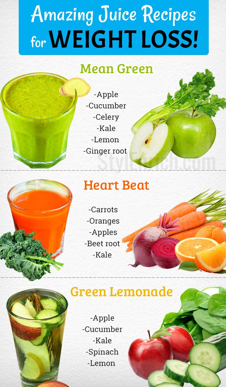 Slow Juicer Diet Recipes : Juice Recipes for Weight Loss Naturally in a Healthy Way!