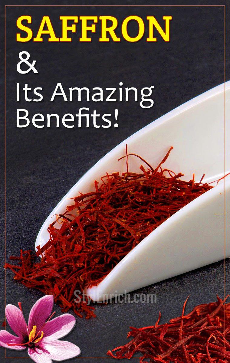 Saffron Uses & Its Amazing Benefits!