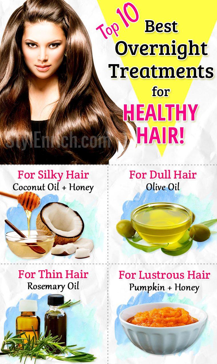 Hair Treatment Overnight