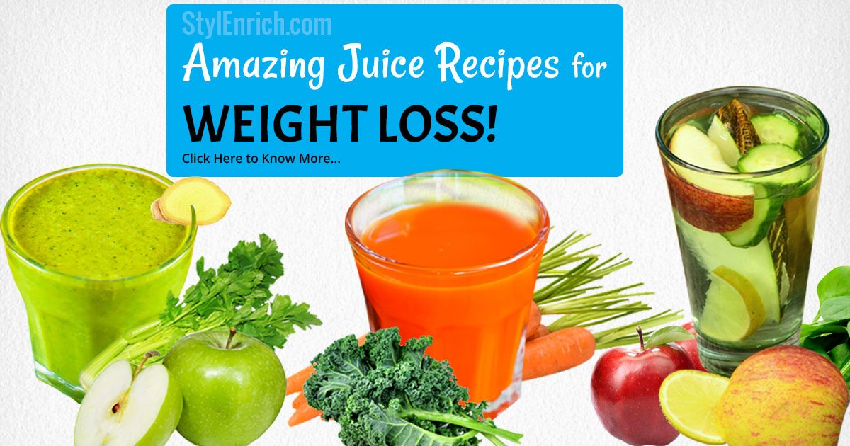 Slow Juicer Recipes For Weight Loss : Juice Recipes for Weight Loss Naturally in a Healthy Way!