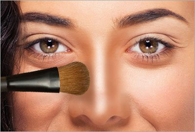 Step4 contour nose to look thinner