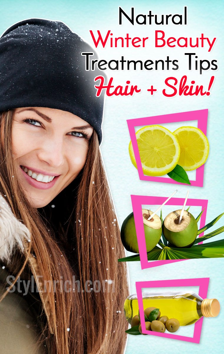Hair and Skincare in Winters