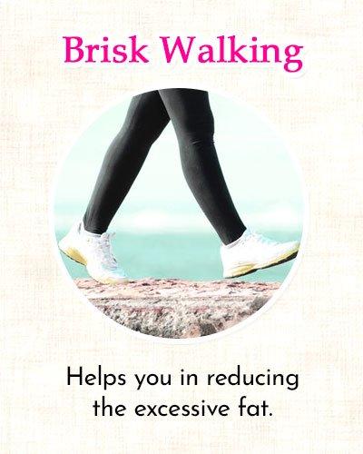 Brisk Walking to Get Rid of Side Fat