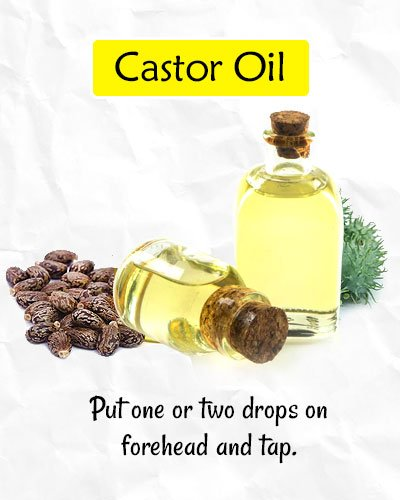 Castor Oil to Get Rid of Forehead Wrinkles