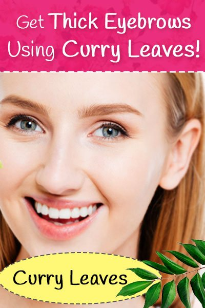 Curry Leaves for Eyebrows