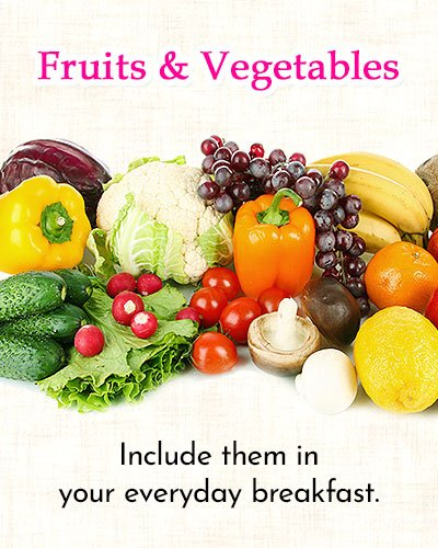 Fruits and Fresh Vegetables to Get Rid of Side Fat