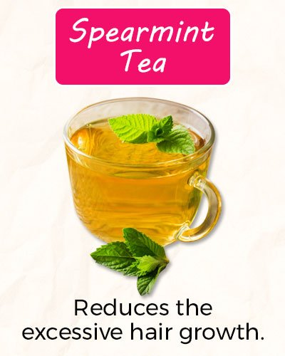 How To Get Rid of Facial Hair Using Spearmint Tea?