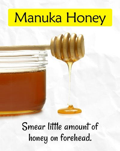 Manuka Honey to Get Rid of Forehead Wrinkles