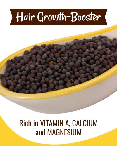 Mustard Hair Mask To Boost Hair Growth