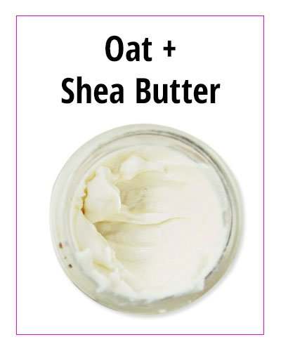 Oat and Shea Butter DIY Face Moisturizer