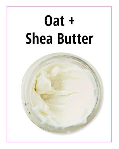 Oat and Shea Butter DIY Face Moisturizer