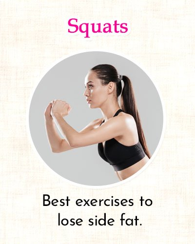 Squat Exercise to Get Rid of Side Fat