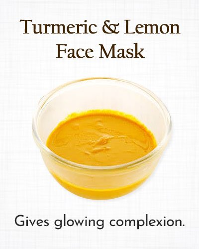 Turmeric and Lemon Face Mask
