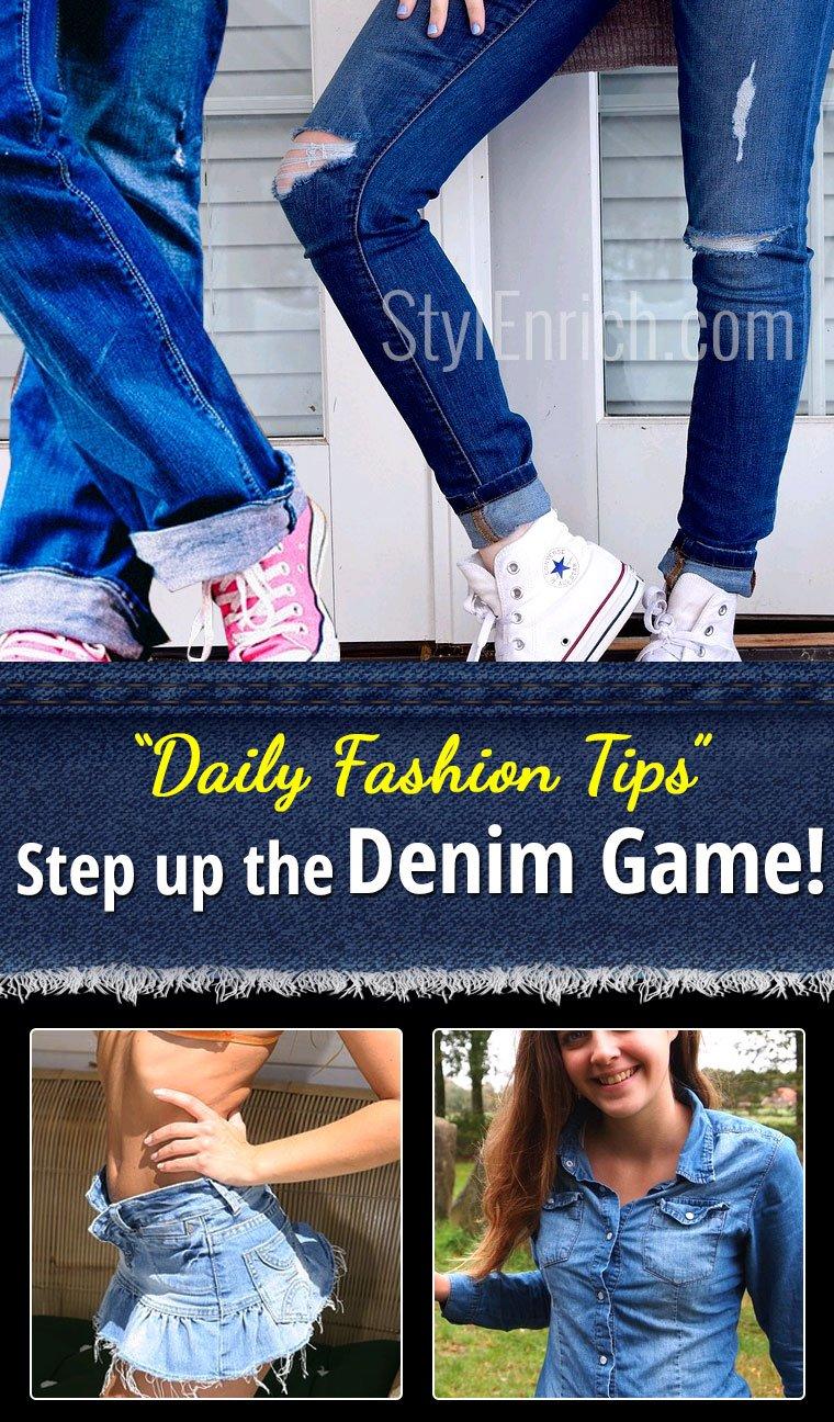 Denim Fashion Tips