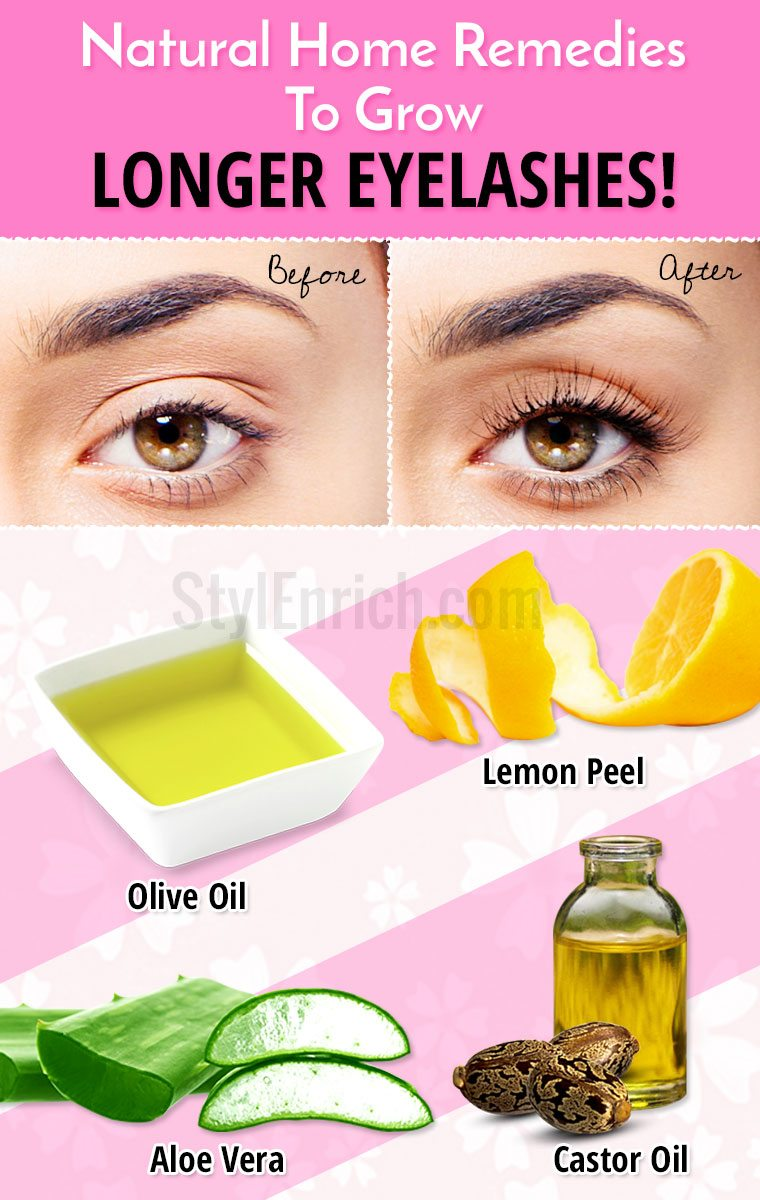 Natural Remedies For Longer Thicker Eyelashes