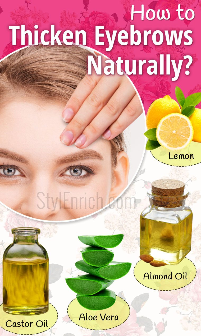 How to Thicken Eyebrows Naturally Using Home Remedies?