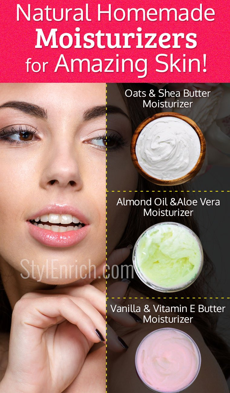 Homemade Face Moisturizer
