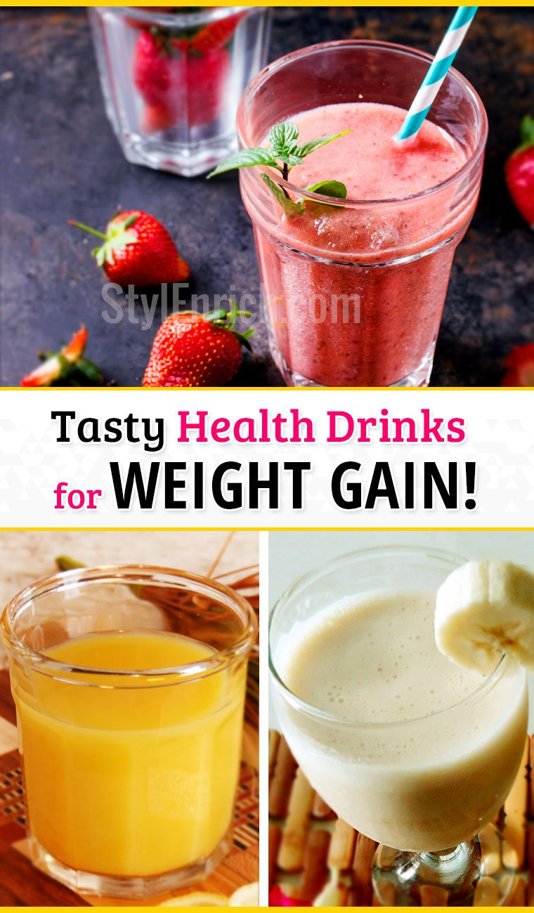Weight gain shakes - a tasty health drinks