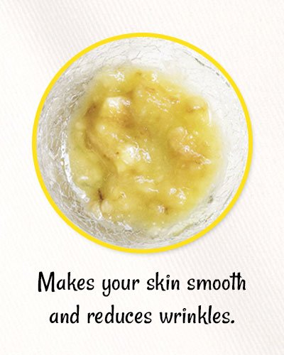 Banana Anti Aging Mask for Wrinkles