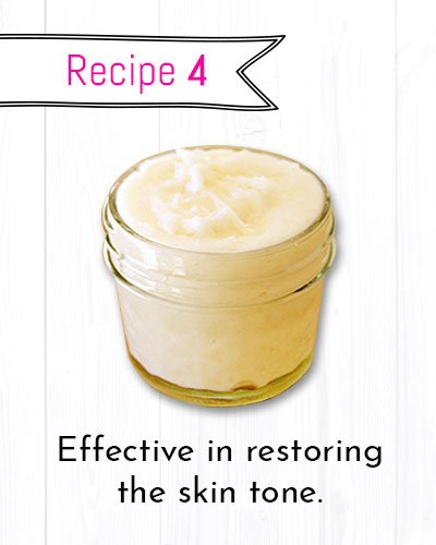DIY Wrinkle Cream to Restore the Skin Tone