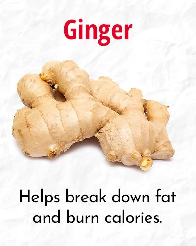 Ginger To Speed Up Your Metabolism
