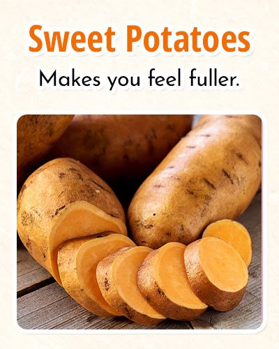 Sweet Potatoes For Burning Fat