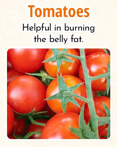 Tomatoes ForBurning Fat