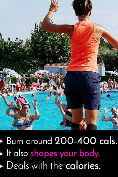 Water Aerobics to Burn Calories