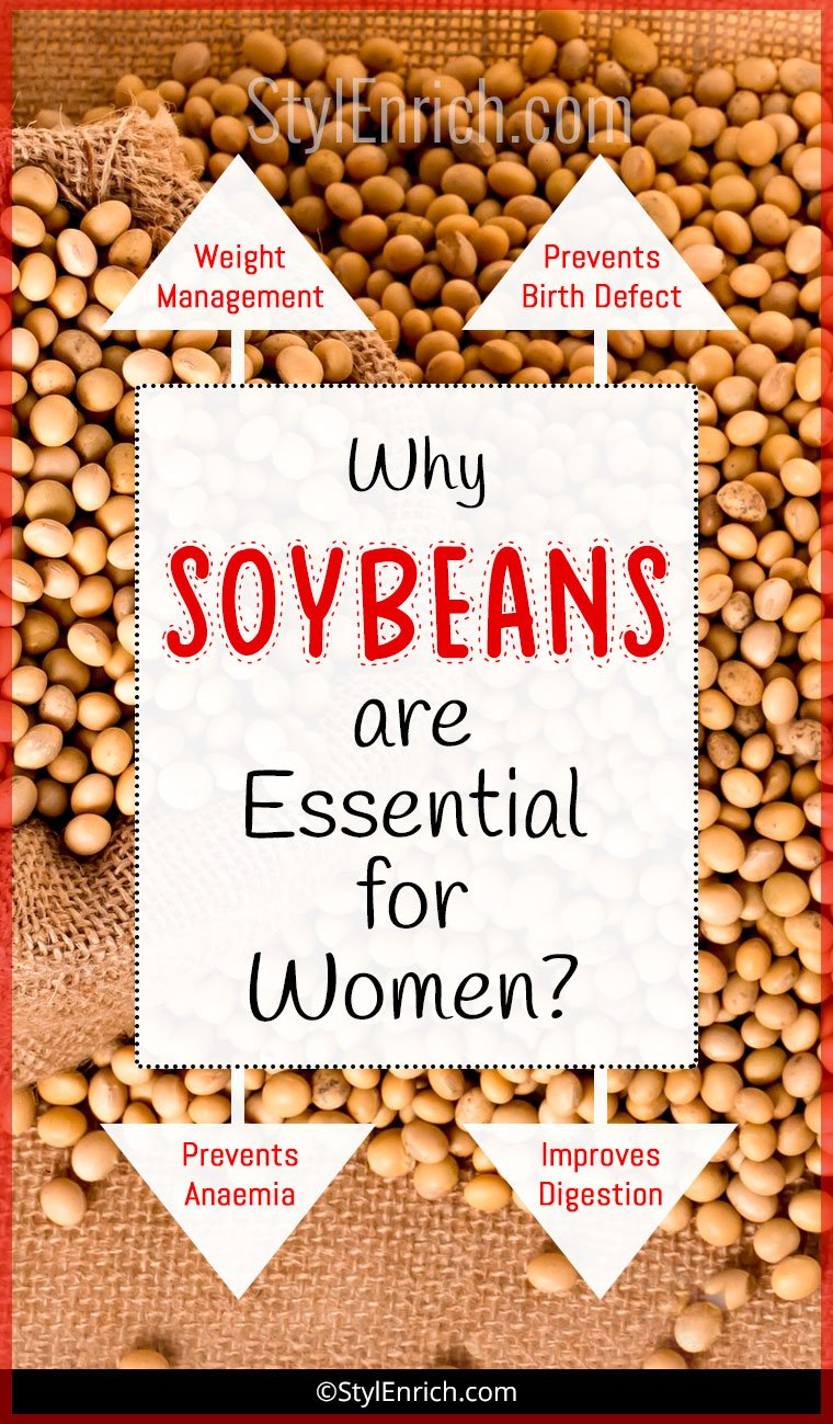 Benefits of Soybeans For Women